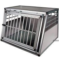 zooplus IT Gabbia da trasporto in alluminio - - P 92 x l 82 x H 66 cm