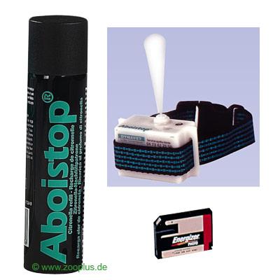 Collare spray antiabbaio Aboistop - - standard, fino a una circonferenza di collo di max 75 cm