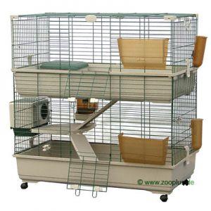 Offerta vendo gabbia 2 piani per conigli roditori for Piani di trama per la mia casa