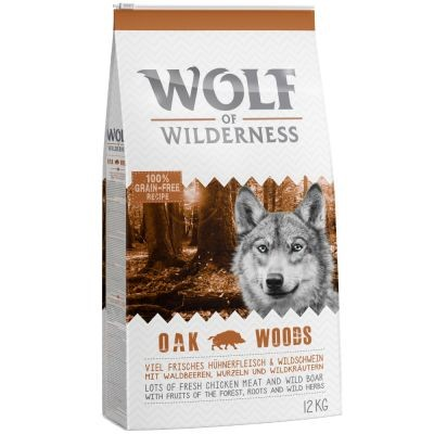 """Wolf of Wilderness Adult """"Oak Woods"""" - Cinghiale"""