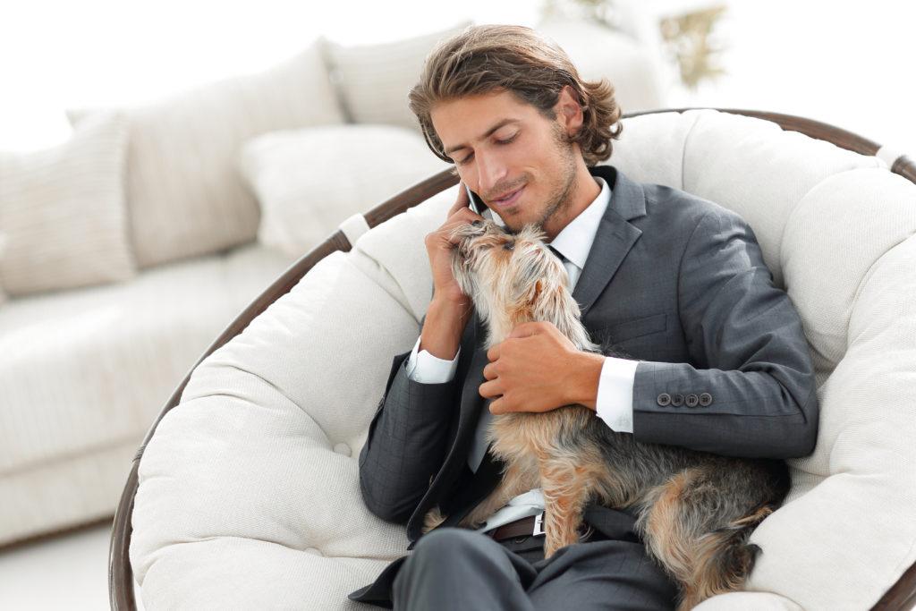 I cani riducono il livello di stress