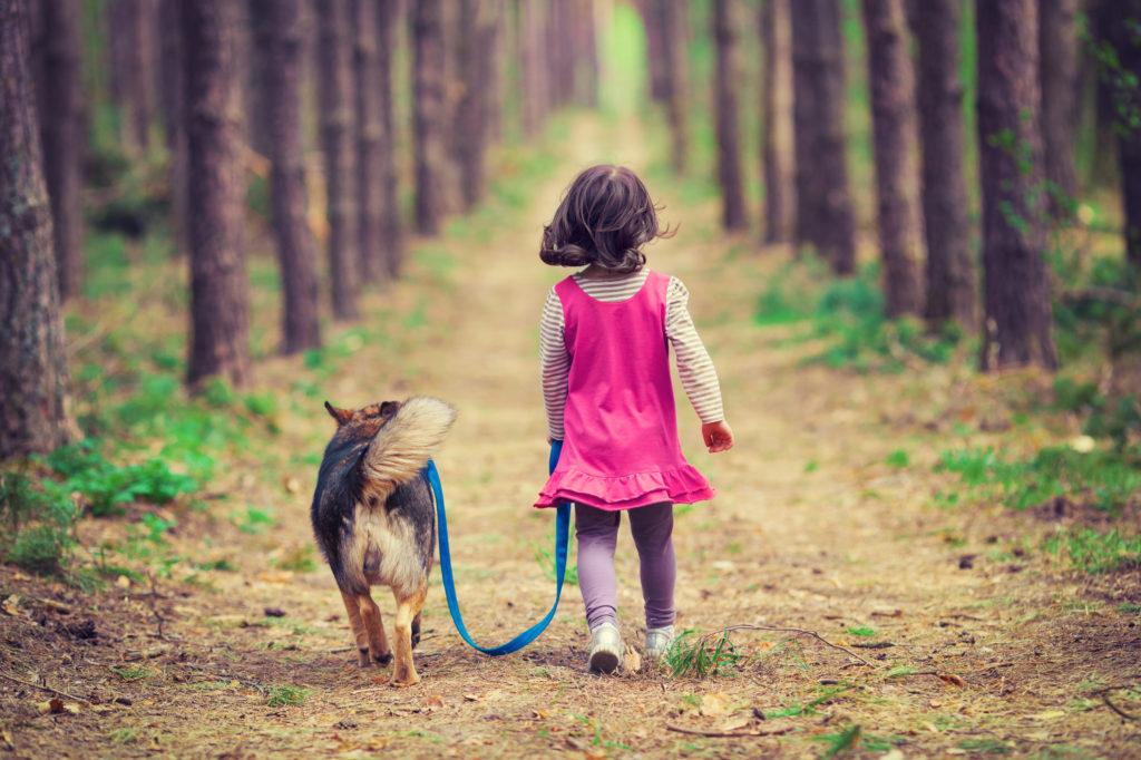 I cani fanno bene alla crescita dei bambini