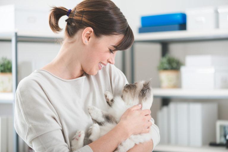 I 10 segnali che dimostrano che il mio gatto mi vuole bene