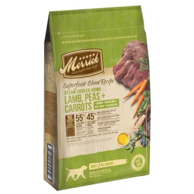 Merrick Superfoods Adult - Agnello con Piselli e Carote