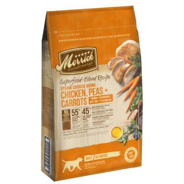 Merrick Superfood Adult – Pollo con Piselli e Carote